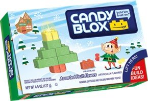 Christmas Candy Blox 4.5oz Theater Box