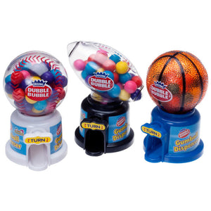Dubble Bubble Hot Sports Gumball Machine