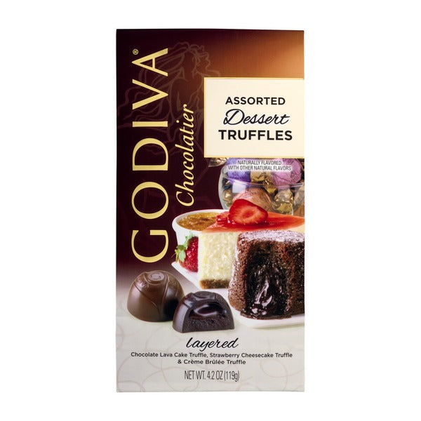 Godiva Chocolate Truffles 12PC Assorted Dessert