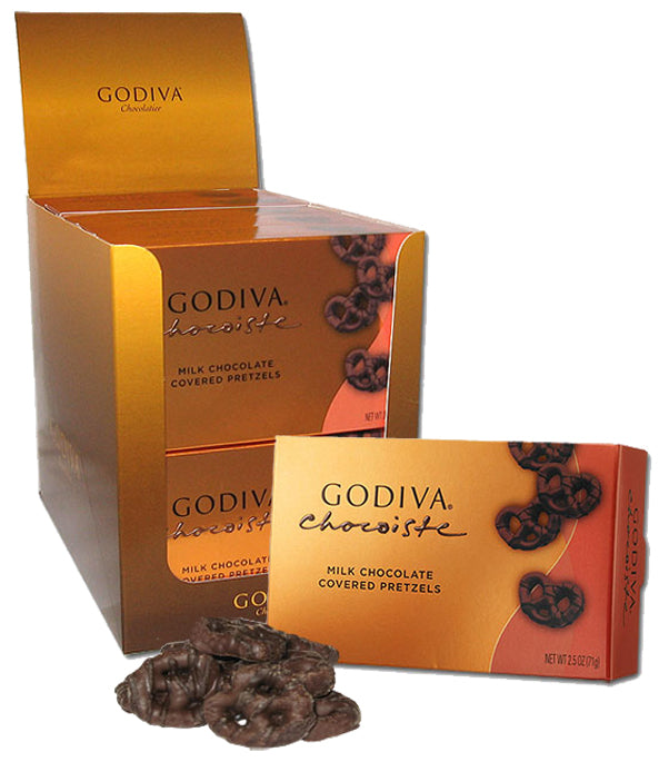 Godiva Chocolate Covered Mini Pretzels