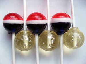 Stars and Stripes lollipops by I Want Candy!