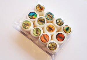 Creature eyes edible art marshmallows by I Want Candy!