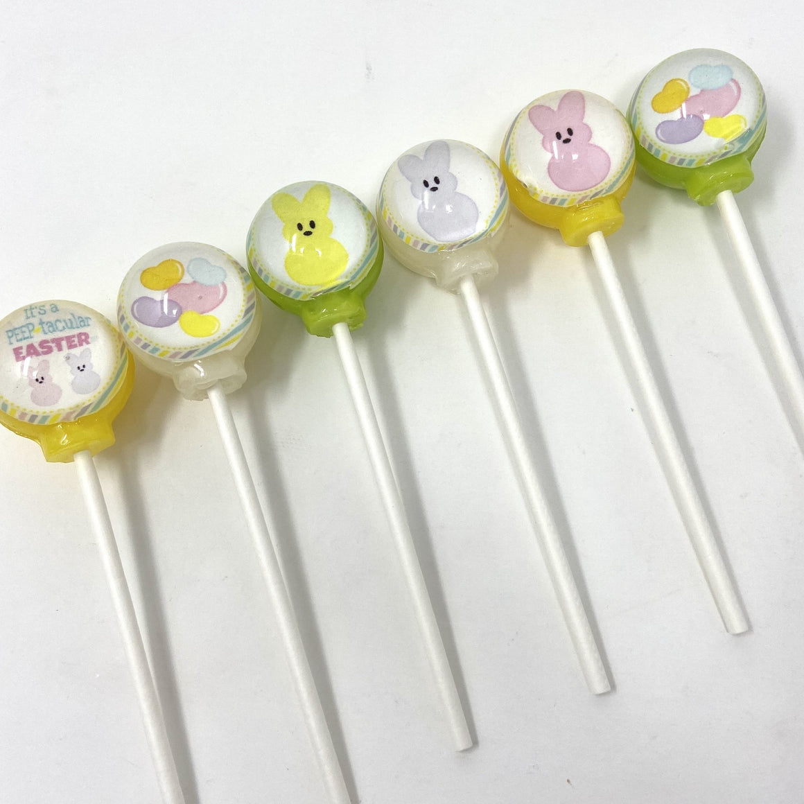 Peeps set of 6 lollipops by I Want Candy!