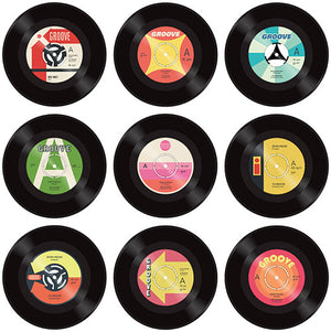 Vintage vinyl record lollipops by I Want Candy!