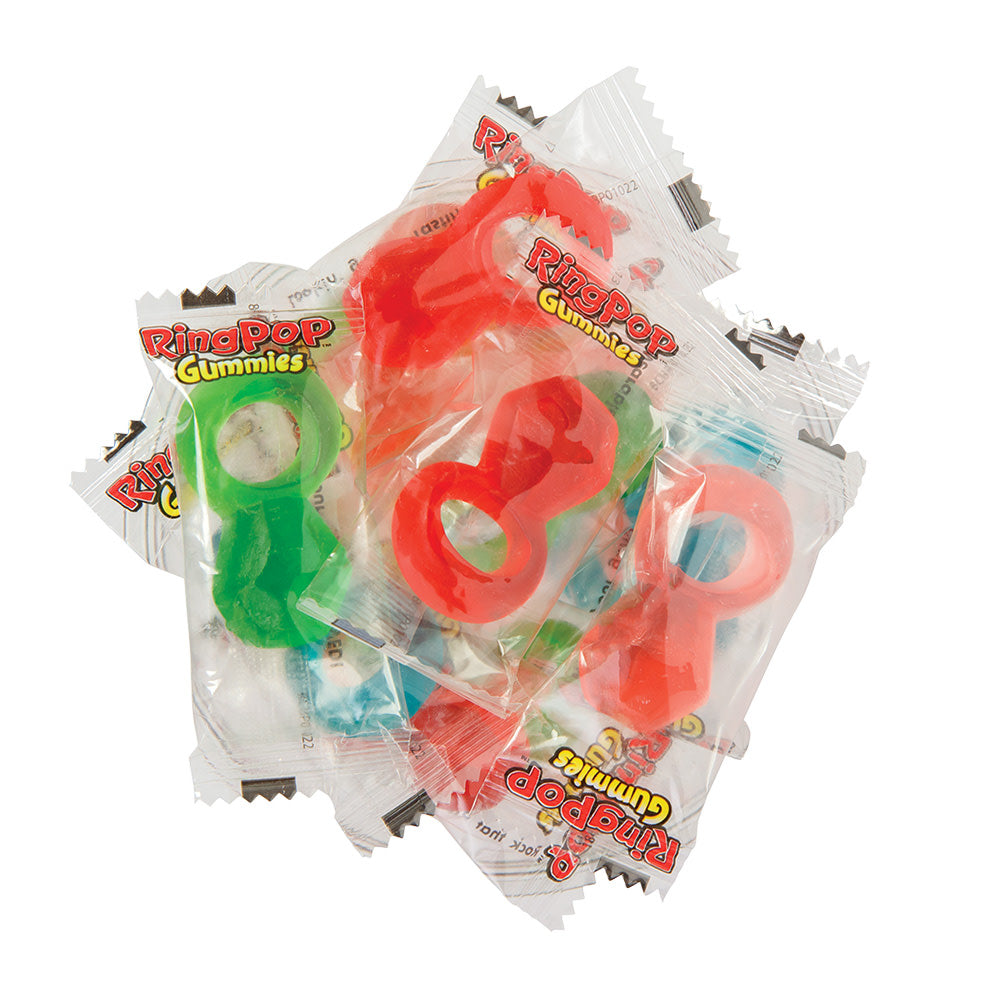 Gummy Ring Pops (individually wrapped)