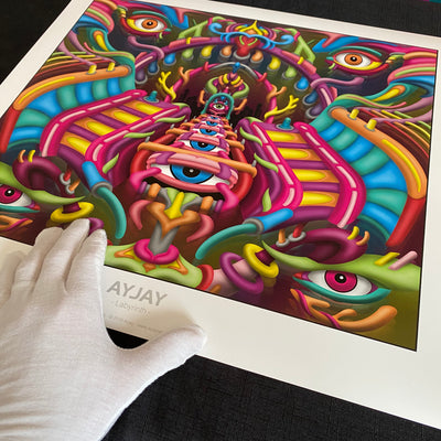 Visionary art prints