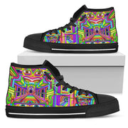 Cosmic Corridors - Psychedelic High Tops