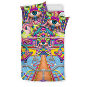 Psychedelic DMT art Bedding Sets by Ayjay