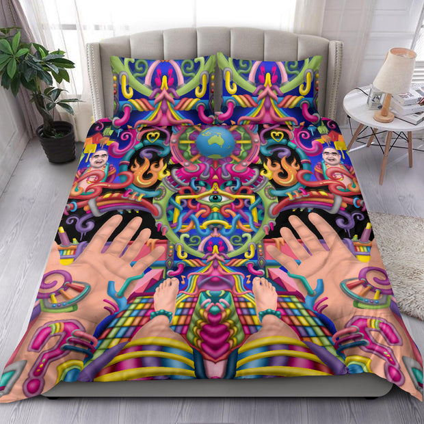 Spirit Molecule - Psychedelic Bedding Set
