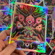 Entheo - Holographic Art Sticker - Ayjay Art
