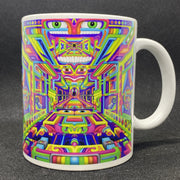 DMT Art Coffee Mug by Ayjay