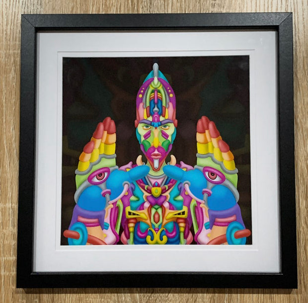 The Nameless - Framed Psychedelic Art - Ayjay Art