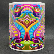 Labyrinth - Psychedelic Art Mug - Ayjay Art
