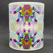 No Fear - Psychedelic Art Mug - Ayjay Art