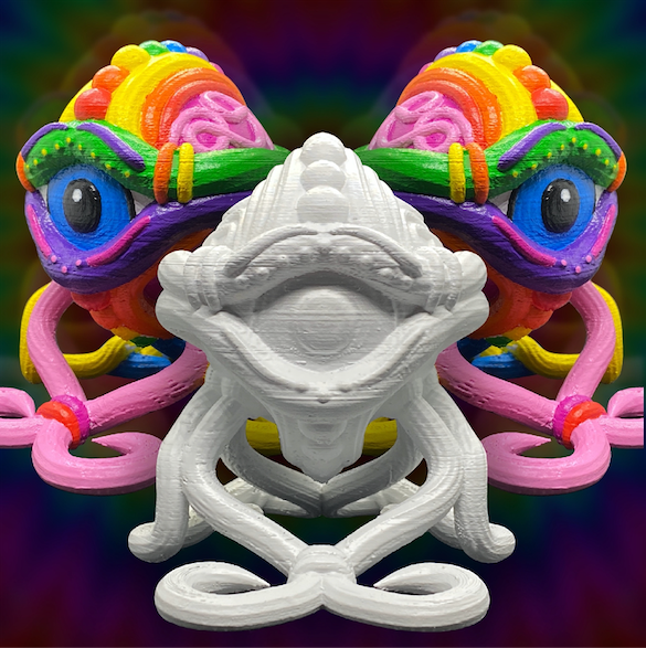 Optic Crawler - DIY Psychedelic Art Model