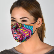 Labyrinth - Psychedelic Face Mask