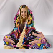Spirit Molecule - Hooded Blanket