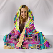 Lysergic Revelation - Hooded Blanket