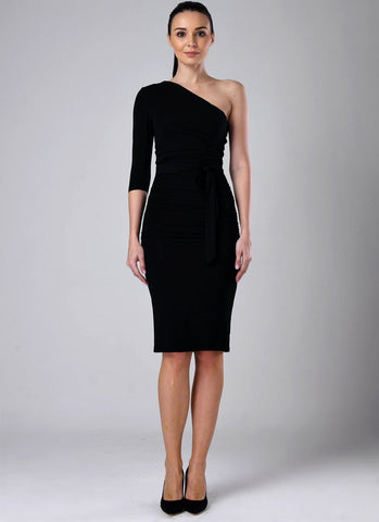 Dolly Elegant Bodycon Dress-Black Dresses NATTEMAID Store