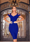 Chanel Off Shoulder Bandage Dress- Royal Blue Dresses Sexy LuLu Store S Royal Blue