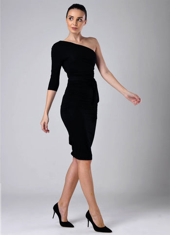 Dolly Elegant Bodycon Dress-Black Dresses NATTEMAID Store M (US 10-12) Black
