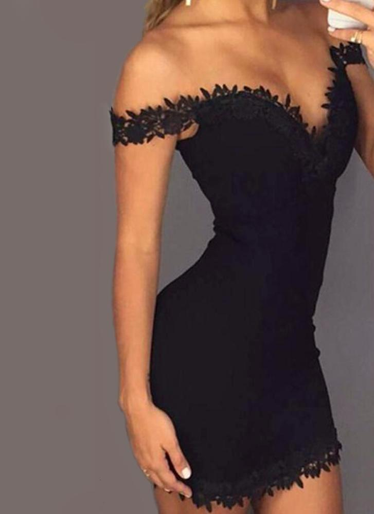 Rima Bodycon-Black Dresses Smiling Eyes Store