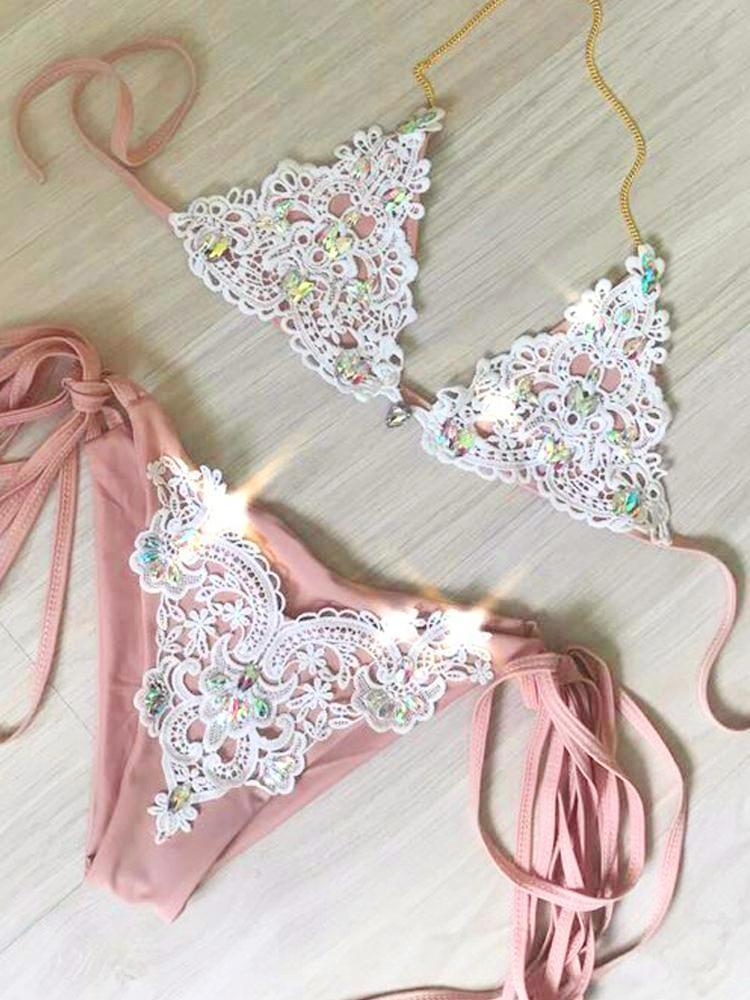 Coachella Diamond Bikini Set Bikinis Set Glane Store Store