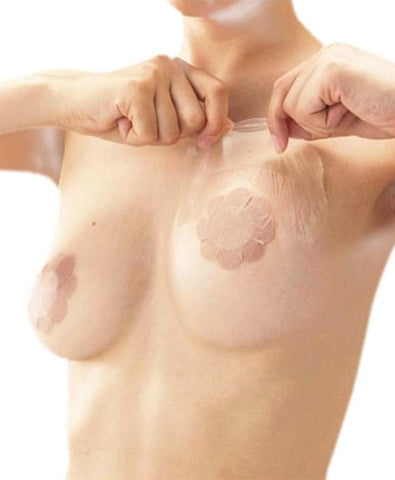 Invisible Lifting Breast Shapers Tape- Nude Breast Petals CINOON Official Store