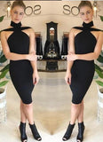 Sera Halter Bodycon Dress - Posh Fashion Girls