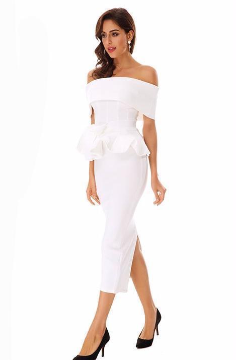 Khloe Midi Dress Dresses Hezong Store