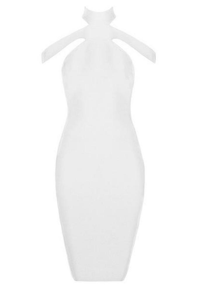 Sera Halter Bodycon Dress 1688