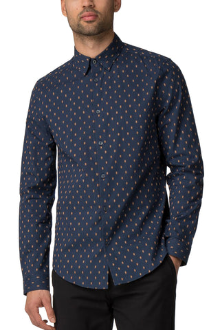 Ben Sherman Chandler L/S in Navy