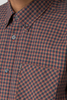 Ben Sherman Benny L/S Shirt in Rust
