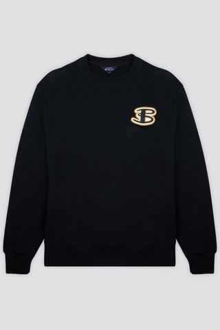 Ben Sherman B+ Sweatshirt in Black