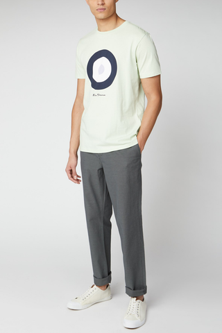 Ben Sherman Bullseye T-Shirt in Lime