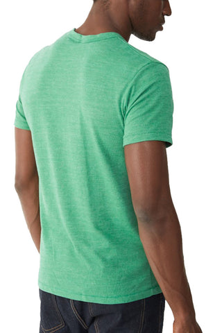 Alternative Eco Heather Crew Tee in True Green