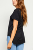 Gentle Fawn Alythena Tee in Black