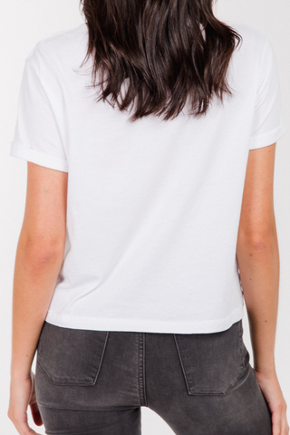 Brunette the Label All Babes Cropped Tee
