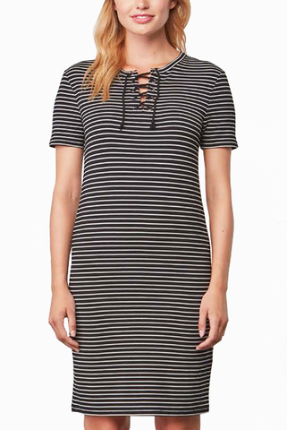 Cupcakes and Cashmere Lindsey Dress in Stripe