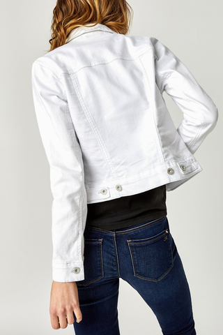 Mavi Samantha Jacket in White