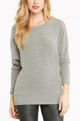 Cupcakes and Cashmere All I Want Sweater in Grey