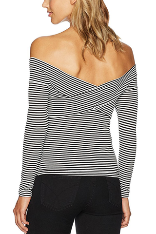 Cupcakes and Cashmere Better Off Top in Stripe