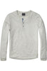 Scotch & Soda Someone New L/S Shirt In Neutral