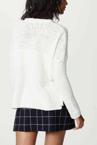 Cupcakes and Cashmere Lausen Sweater in Ivory