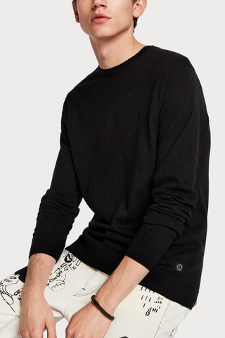 Scotch & Soda Benjamin Sweater in Black