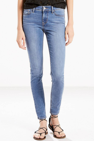 Levi's 710 Amber Super Skinny in Wave