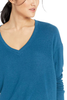 Cupcakes and Cashmere Elena Sweater in Blue