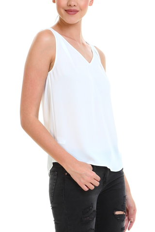 Hold My Hand Tank in White