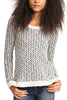 Jack by BB Dakota Cuckoo Knit Sweater in Black/White