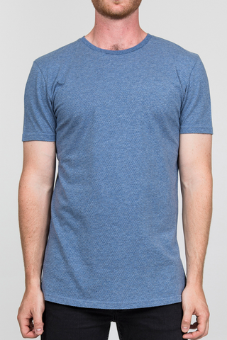 RVLT Down the Road Tee in Blue